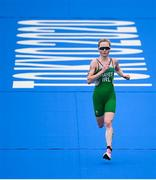 27 July 2021; Carolyn Hayes of Ireland in action during the Women's Triathlon at the Odaiba Marine Park during the 2020 Tokyo Summer Olympic Games in Tokyo, Japan. Photo by Stephen McCarthy/Sportsfile