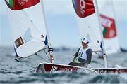27 July 2021; Annalise Murphy of Ireland in action during the women's laser radial races at the Enoshima Yacht Harbour during the 2020 Tokyo Summer Olympic Games in Tokyo, Japan. Photo by Brendan Moran/Sportsfile