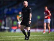 25 July 2021; Referee Barry Cassidy during the Munster GAA Football Senior Championship Final match between Kerry and Cork at Fitzgerald Stadium in Killarney, Kerry. Photo by Piaras Ó Mídheach/Sportsfile