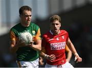 25 July 2021; Jack Barry of Kerry in action against Ian Maguire of Cork during the Munster GAA Football Senior Championship Final match between Kerry and Cork at Fitzgerald Stadium in Killarney, Kerry. Photo by Piaras Ó Mídheach/Sportsfile