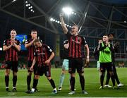29 July 2021; Georgie Kelly of Bohemians after the UEFA Europa Conference League second qualifying round second leg match between Bohemians and F91 Dudelange at Aviva Stadium in Dublin. Photo by Eóin Noonan/Sportsfile