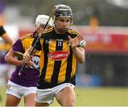 28 July 2021; Harry Shine of Kilkenny during the 2021 Electric Ireland Leinster Minor Hurling Championship Final match between Kilkenny and Wexford at Netwatch Cullen Park in Carlow. Photo by Matt Browne/Sportsfile