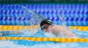 30 July 2021; Daniel Wiffen of Ireland in action during the heats of the men's 1500m freestyle at the Tokyo Aquatics Centre during the 2020 Tokyo Summer Olympic Games in Tokyo, Japan. Photo by Ian MacNicol/Sportsfile
