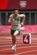 31 July 2021; Mark English of Ireland in action during round one of the men's 800 metres heats at the Olympic Stadium during the 2020 Tokyo Summer Olympic Games in Tokyo, Japan. Photo by Brendan Moran/Sportsfile