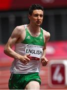 31 July 2021; Mark English of Ireland in action during his heat of the men's 800 metres on day eight at the Olympic Stadium during the 2020 Tokyo Summer Olympic Games in Tokyo, Japan. Photo by Brendan Moran/Sportsfile Photo by Brendan Moran/Sportsfile