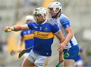 31 July 2021; Padraic Maher of Tipperary in action against Shane Bannett of Waterford during the GAA Hurling All-Ireland Senior Championship Quarter-Final match between Tipperary and Waterford at Pairc Ui Chaoimh in Cork. Photo by Eóin Noonan/Sportsfile