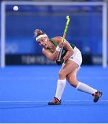 31 July 2021; Lena Tice of Ireland during the women's pool A group stage match between Great Britain and Ireland at the Oi Hockey Stadium during the 2020 Tokyo Summer Olympic Games in Tokyo, Japan. Photo by Stephen McCarthy/Sportsfile