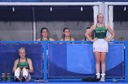 31 July 2021; Hannah Matthews, left, and Sarah Hawkshaw of Ireland after their side's women's pool A group stage match against Great Britain at the Oi Hockey Stadium during the 2020 Tokyo Summer Olympic Games in Tokyo, Japan. Photo by Stephen McCarthy/Sportsfile