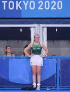 31 July 2021; Sarah Hawkshaw of Ireland after her side's women's pool A group stage match against Great Britain at the Oi Hockey Stadium during the 2020 Tokyo Summer Olympic Games in Tokyo, Japan. Photo by Stephen McCarthy/Sportsfile