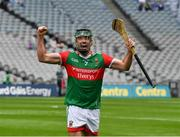 31 July 2021; Conor Henry of Mayo celebrates after the Nickey Rackard Cup Final match between Tyrone and Mayo at Croke Park in Dublin. Photo by Ray McManus/Sportsfile