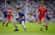 31 July 2021; Stephen O'Hanlon of Monaghan in action against Conor Meyler of Tyrone during the Ulster GAA Football Senior Championship Final match between Monaghan and Tyrone at Croke Park in Dublin. Photo by Ray McManus/Sportsfile