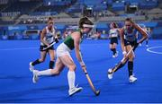 31 July 2021; Sarah Torrans of Ireland during the women's pool A group stage match between Great Britain and Ireland at the Oi Hockey Stadium during the 2020 Tokyo Summer Olympic Games in Tokyo, Japan. Photo by Stephen McCarthy/Sportsfile