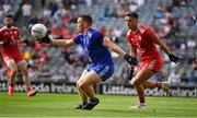 31 July 2021; Micheál Bannigan of Monaghan in action against Michael McKernan of Tyrone during the Ulster GAA Football Senior Championship Final match between Monaghan and Tyrone at Croke Park in Dublin. Photo by Ray McManus/Sportsfile
