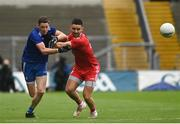 31 July 2021; Conor McManus of Monaghan in action against Pádraig Hampsey of Tyrone during the Ulster GAA Football Senior Championship Final match between Monaghan and Tyrone at Croke Park in Dublin. Photo by Harry Murphy/Sportsfile