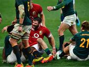 31 July 2021; Robbie Henshaw of British and Irish Lions scores a try which is subsequently disallowed during the second test of the British and Irish Lions tour match between South Africa and British and Irish Lions at Cape Town Stadium in Cape Town, South Africa. Photo by Ashley Vlotman/Sportsfile