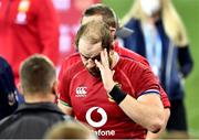 31 July 2021; Alun Wyn Jones of the British and Irish Lions after the second test of the British and Irish Lions tour match between South Africa and British and Irish Lions at Cape Town Stadium in Cape Town, South Africa. Photo by Ashley Vlotman/Sportsfile