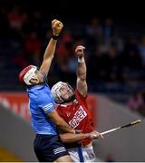 31 July 2021; Paddy Smyth of Dublin in action against Patrick Horgan of Cork during the GAA Hurling All-Ireland Senior Championship Quarter-Final match between Dublin and Cork at Semple Stadium in Thurles, Tipperary. Photo by David Fitzgerald/Sportsfile