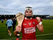 31 July 2021; Seán O'Leary Hayes of Cork celebrates following the GAA Hurling All-Ireland Senior Championship Quarter-Final match between Dublin and Cork at Semple Stadium in Thurles, Tipperary. Photo by David Fitzgerald/Sportsfile