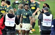 31 July 2021; Siya Kolisi of South Africa after the second test of the British and Irish Lions tour match between South Africa and British and Irish Lions at Cape Town Stadium in Cape Town, South Africa. Photo by Ashley Vlotman/Sportsfile