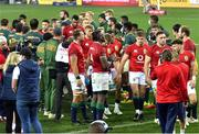 31 July 2021; British and Irish Lions players after the second test of the British and Irish Lions tour match between South Africa and British and Irish Lions at Cape Town Stadium in Cape Town, South Africa. Photo by Ashley Vlotman/Sportsfile