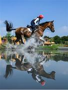 1 August 2021; Lauren Billys of Puerto Rico riding Castle Larchfield Purdy during the eventing cross country team and individual session at the Sea Forest Cross-Country Course during the 2020 Tokyo Summer Olympic Games in Tokyo, Japan. Photo by Stephen McCarthy/Sportsfile