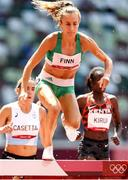 1 August 2021; Michelle Finn of Ireland in action during round one of the women's 3000 metres steeplechase at the Olympic Stadium on day nine of the 2020 Tokyo Summer Olympic Games in Tokyo, Japan. Photo by Giancarlo Colombo/Sportsfile