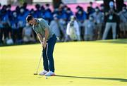 1 August 2021; Rory McIlroy of Ireland putts on the 18th green during the bronze medal playoff in round 4 of the men's individual stroke play at the Kasumigaseki Country Club during the 2020 Tokyo Summer Olympic Games in Kawagoe, Saitama, Japan. Photo by Ramsey Cardy/Sportsfile