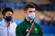 1 August 2021; Rhys McClenaghan of Ireland before the men's pommel horse final at the Ariake Gymnastics Centre during the 2020 Tokyo Summer Olympic Games in Tokyo, Japan. Photo by Stephen McCarthy/Sportsfile