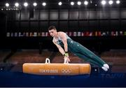 1 August 2021; Rhys McClenaghan of Ireland during the men's pommel horse final at the Ariake Gymnastics Centre during the 2020 Tokyo Summer Olympic Games in Tokyo, Japan. Photo by Stephen McCarthy/Sportsfile