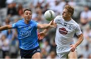 1 August 2021; Cormac Costello of Dublin in action against Daniel Flynn of Kildare during the Leinster GAA Football Senior Championship Final match between Dublin and Kildare at Croke Park in Dublin. Photo by Piaras Ó Mídheach/Sportsfile