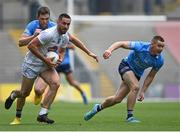 1 August 2021; Ben McCormack of Kildare in action against Dean Rock, left, and Con O'Callaghan of Dublin during the Leinster GAA Football Senior Championship Final match between Dublin and Kildare at Croke Park in Dublin. Photo by Piaras Ó Mídheach/Sportsfile