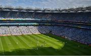 1 August 2021; A general view of the action during the Leinster GAA Football Senior Championship Final match between Dublin and Kildare at Croke Park in Dublin. Photo by Daire Brennan/Sportsfile
