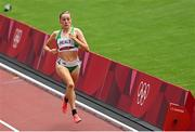 2 August 2021; Sarah Healy of Ireland in action during round one of the women's 1500 metres at the Olympic Stadium on day ten of the 2020 Tokyo Summer Olympic Games in Tokyo, Japan. Photo by Ramsey Cardy/Sportsfile