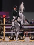 2 August 2021; Austin O'Connor of Ireland riding Colorado Blue during the eventing jumping individual final at the Equestrian Park during the 2020 Tokyo Summer Olympic Games in Tokyo, Japan. Photo by Brendan Moran/Sportsfile