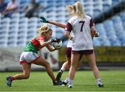2 August 2021; Sarah Rowe of Mayo during the TG4 All-Ireland Senior Ladies Football Championship Quarter-Final match between Mayo and Galway at Elverys MacHale Park in Castlebar, Co Mayo. Photo by Piaras Ó Mídheach/Sportsfile