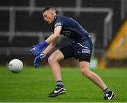 2 August 2021; Dublin goalkeeper Charlie Coghlan during the 2021 Electric Ireland Leinster Minor Football Championship Final match between Meath and Dublin at Bord Na Mona O'Connor Park in Tullamore, Offaly. Photo by Ray McManus/Sportsfile