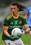 2 August 2021; Shaun Leonard of Meath during the 2021 Electric Ireland Leinster Minor Football Championship Final match between Meath and Dublin at Bord Na Mona O'Connor Park in Tullamore, Offaly. Photo by Ray McManus/Sportsfile