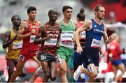 3 August 2021; Andrew Coscoran of Ireland in action during his heat of the men's 1500 metres at the Olympic Stadium during the 2020 Tokyo Summer Olympic Games in Tokyo, Japan. Photo by Ramsey Cardy/Sportsfile