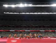 3 August 2021; A general view during round one of the men's 5000 metres at the Olympic Stadium during the 2020 Tokyo Summer Olympic Games in Tokyo, Japan. Photo by Ramsey Cardy/Sportsfile