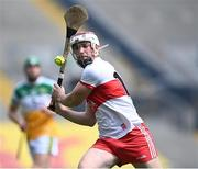 1 August 2021; Brian Cassidy of Derry during the Christy Ring Cup Final match between Derry and Offaly at Croke Park in Dublin.  Photo by Piaras Ó Mídheach/Sportsfile