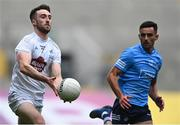 1 August 2021; Kevin Flynn of Kildare in action against Niall Scully of Dublin during the Leinster GAA Football Senior Championship Final match between Dublin and Kildare at Croke Park in Dublin. Photo by Piaras Ó Mídheach/Sportsfile