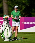 4 August 2021; Stephenie Meadow of Ireland on the 15th tee box during round one of the women's individual stroke play at the Kasumigaseki Country Club during the 2020 Tokyo Summer Olympic Games in Kawagoe, Saitama, Japan. Photo by Brendan Moran/Sportsfile