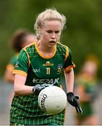 1 August 2021; Stacey Grimes of Meath during the TG4 Ladies Football All-Ireland Championship Quarter-Final match between Armagh and Meath at St Tiernach's Park in Clones, Monaghan. Photo by Sam Barnes/Sportsfile