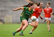 1 August 2021; Shauna Ennis of Meath during the TG4 Ladies Football All-Ireland Championship Quarter-Final match between Armagh and Meath at St Tiernach's Park in Clones, Monaghan. Photo by Sam Barnes/Sportsfile