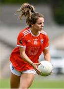 1 August 2021; Alexandra Clarke of Armagh during the TG4 Ladies Football All-Ireland Championship Quarter-Final match between Armagh and Meath at St Tiernach's Park in Clones, Monaghan. Photo by Sam Barnes/Sportsfile