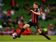 29 July 2021; Keith Buckley of Bohemians during the UEFA Europa Conference League second qualifying round second leg match between Bohemains and F91 Dudelange at Aviva Stadium in Dublin. Photo by Eóin Noonan/Sportsfile