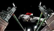 4 August 2021; Eiken Sato of Japan riding Saphyr Des Lacs during the jumping individual final at the Equestrian Park during the 2020 Tokyo Summer Olympic Games in Tokyo, Japan. Photo by Stephen McCarthy/Sportsfile