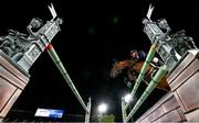 4 August 2021; Geir Gulliksen of Norway riding Quatro during the jumping individual final at the Equestrian Park during the 2020 Tokyo Summer Olympic Games in Tokyo, Japan. Photo by Stephen McCarthy/Sportsfile