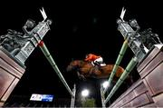 4 August 2021; Marc Houtzager of Netherlands riding Dante during the jumping individual final at the Equestrian Park during the 2020 Tokyo Summer Olympic Games in Tokyo, Japan. Photo by Stephen McCarthy/Sportsfile