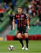 3 August 2021; Anto Breslin of Bohemians during the UEFA Europa Conference League third qualifying round first leg match between Bohemians and PAOK at Aviva Stadium in Dublin. Photo by Harry Murphy/Sportsfile